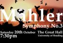 Updated: programme note for Mahler's Third Symphony