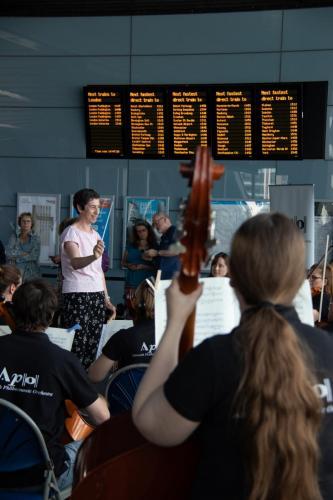 APO's Scandinavia at the Station - 20th July 2019. Photo - Mark Hepworth