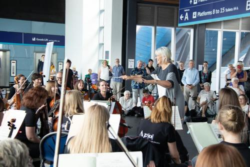 APO's Scandinavia at the Station - 20th July 2019. Photo - Mark Hepworth